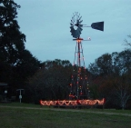 Lighted Windmill